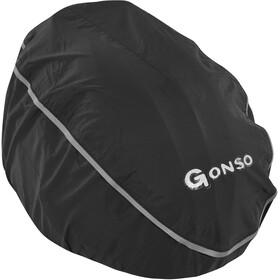 Gonso Regen-Helmhaube schwarz